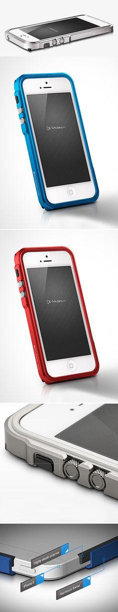 Blade : Premium Metal Bumper for iPhone 5