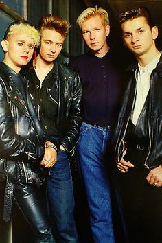 Depeche Mode // They make me want to own more leather, among other things.