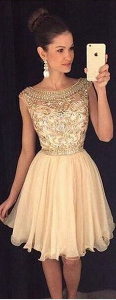 Gorgeous Homecoming Dress,Short Pro