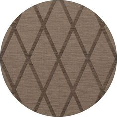 Dalyn Rug Co. Dover Stone Area Rug Rug Size: Round 4'