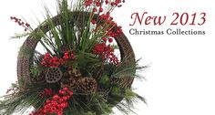 Christmas Floral Designs  2013 Collection Handmade Wreaths, Swags, Arrangments & Garlands