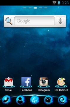 Blue Planet theme for Android Phone  http://androidlooks.com/theme/t0310-blue-planet/  #go_launcher, #android, #themes, #customization