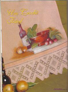 Pintura e Crochê - BIA MOREIRA - Crochet Arte 3 - Lidia Arte - Picasa Web Albums