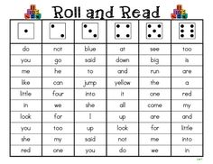 Roll and Read Sight Words.pdf