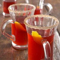 Mulled Cranberry Punch - festive non-alcoholic beverage
