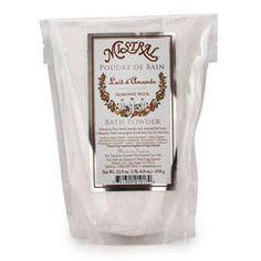 MISTRAL – Sels De Bain Almond Milk Bath Salt – 1.6lb