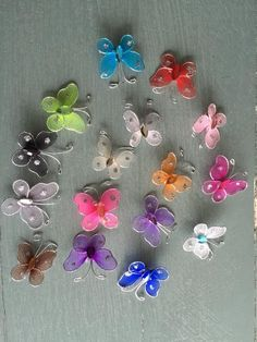 Items similar to 12 pcs. 1 inch Nylon Organza Butterflies Wedding Butterfly & Party Decor on Etsy Butterfly Wedding, Butterfly Flowers, Floral Wedding, Butterflies, Butterfly Party Decorations, Fairy Bedroom, Head Pins, Dressmaking, Wings