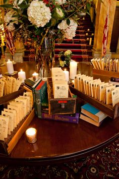 yes. I am stealing this idea. Escort Cards   Karson Butler Events