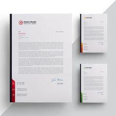 Letterhead template Company Letterhead Template, Letterhead Design, Stationery Design, Branding Design, Page Layout Design, Header Design, Book Layout, Web Design, Letterhead Business