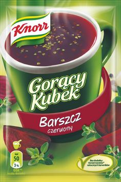 in USA- Knorr Goracy Kubek Barszcz - Red Beet Soup- Pack of 5