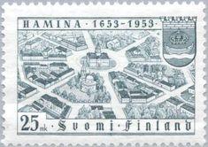 Hamina (Fredrikshamm) from the Air, Coat of Arms