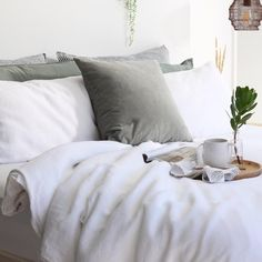– The Foxes Den Linen Sheets, Linen Duvet, Linen Fabric, Bed Linen Online, Good Sleep, Natural Linen, Duvet Cover Sets, Pure Products, Pure White