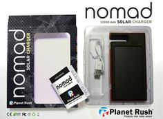 60% OFF! Planet Rush Nomad Life 4 in 1 USB Solar Charger Power Bank Phone Dock & Flashlight Heavy Duty 12000 mAh Environmentally Friendly Durable Lightweight Lithium Battery Recharge all Cell Phones Tablets etc- FREE Shipping +1 Year Replacement Guarantee