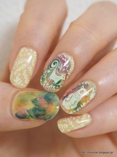 Moru's nails: 【モニター】MoYou LONDON Enchanted Collection 01