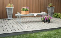Gallery of photos featuring decks, porches and spots for just relaxing - Trex