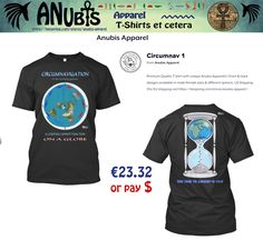 Another Awesomely cool NEW #FlatEarth Premium Quality #Tshirt with unique Anubis Apparel(c) front & back designs. Design Requests welcome at Facebook.com/AnubisApparel  #flatearth #globelie #cool #fashion #truth #trending #viral #world