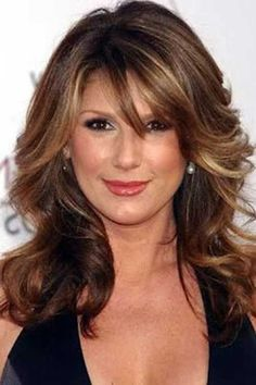 Captivating Haircuts for Women Over 40 - Long Hairstyles 2015