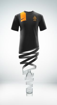 New Nike Netherlands Jersey (made from 13 plastic bottles) - so much inspiration. GO HOLLAND!!!!! Nike Football, Nike Soccer, Soccer Cleats, Football Shirts, Soccer Jerseys, Soccer Outfits, Euro 2012, Fifa World Cup, Plastic Bottles
