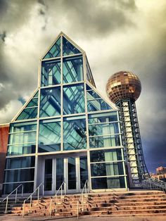 Convention Center in Knoxville Tennessee/ Photo by Renee Hall