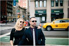 Coryne and Michael's New York Love Shoot.  By Monika Photo Art