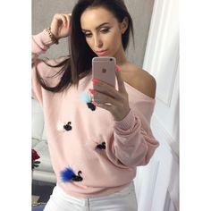 Stylový dámský pletený svetřík růžové barvy - manozo.cz Stylus, Selfie, Style, Selfies