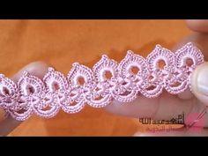 Crochet Necklace Pattern, Crochet Chain, Crochet Lace Edging, Crochet Flower Patterns, Freeform Crochet, Irish Crochet, Crochet Flowers, Crochet Stitches, Crochet Earrings
