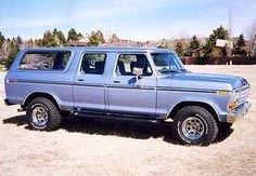 1979 ford bronco | 1979 Ford Bronco Another example of what should of been produced...