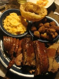 Enjoy a beef brisket, jalapeno sausage, or delicious pork ribs at Sonny Bryan's Smokehouse where they're serving up century-old recipes.