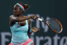 #17-Seed Sloane Stephens Stuns #11-Seed Ana Ivanovic in 3rd rd of BNPP Open. 3/10/14