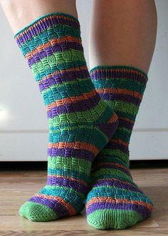 Oh So Nikki Socks pattern by Judy Sumner