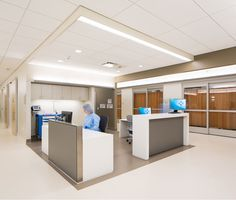 Nature and Nurture: NBBJ's Palo Alto Medical Foundation San Carlos Center NBBJ had multiple meetings with medical staff to review standards, accessibility, and ergonomics, resulting in a casework shell fitted with furniture and accessories on the interi