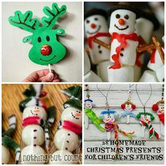 Domesblissity: 28 homemade Christmas presents for children's friends