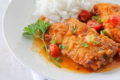 Fish Stew is a Delicious, Flavourful dish that is a perfect comfort food. This recipe is from www.jehancancook.com
