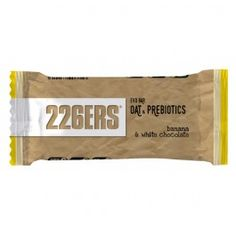 Barrita Evo Bar Oat Prebiotics 226ERS 12 x 60g Platano Chocolate