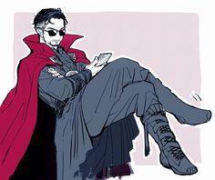Bien diva :v Benedict Cumberbatch, Martin Freeman, Marvel Dc Comics, Marvel Avengers, Mr Doctor, Superfamily Avengers, Spideypool, Avengers Memes, Marvel Cinematic Universe