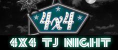 4x4 TJ Night Convocatoria 2015 4x4, Signs, Summoning, Shop Signs, Sign