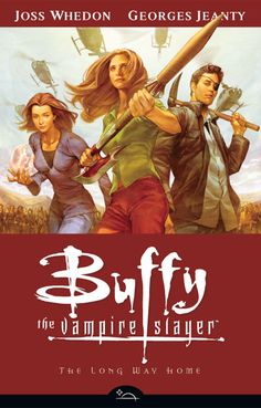 This graphic novel series continues from where the TV series left off following the advantures of Buffy and her friends as they rid the world of paranormal evil.