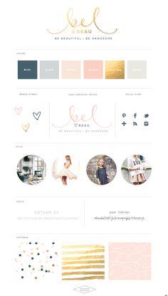 Tulle Skirt Style Post :: Bel & Beau Branding :: Saffron Avenue