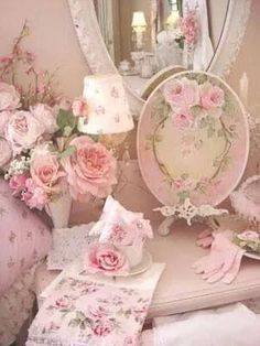Shabby Chic and Roses