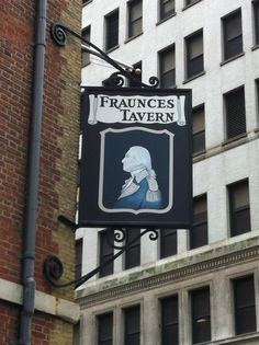 Fraunces Tavern in the Financial District - first eatery in America to offer take-out!