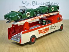 Dinky Toys Commer 'Triumph' Race Car Transporter.