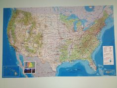 Map printed on our PrestoTex