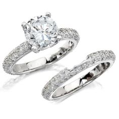 #NatalieK exclusively at exclusively at #Capri #Jewelers #Arizona ~ http://www.caprijewelersaz.com/Natalie-K/38800001/EN ♥ NK10224 is an absolute classic with pave-set diamonds that cover the band.