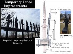 The White House's Fence Upgrade Looks Straight Out of Game of Thrones
