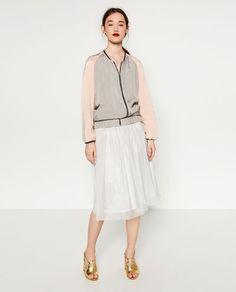 Image 1 of TULLE SKIRT from Zara