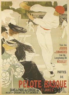 La pelote basque (Euskal pilota) regroupe plusieurs jeux de balle issus du jeu de paume. Dans la plupart des spécialités, le jeu consiste à envoyer, de volée ou après un rebond, la pelote contre un mur principal, nommé frontis, afin qu'elle retombe sur l'aire de jeu nommée cancha. Le point continue jusqu'à ce qu'une équipe commette une faute (falta) ou n'arrive pas à relancer la pelote avant le deuxième rebond.