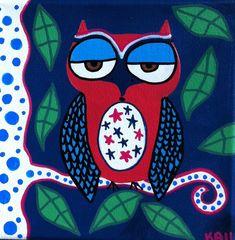 Kerri Ambrosino Mexican Folk Art PRINT American by kerriambrosino, $20.00