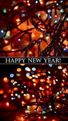 iPhone Wallpaper - Happy New Year tjn Happy New Year 2014, New Years 2016, New Years Eve, Year 2016, The Night Before Christmas, Christmas And New Year, Christmas Holidays, Xmas, New Year's Eve Celebrations