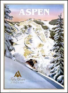 vintage ski posters - Google Search