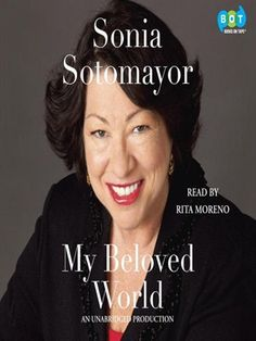This autobiography of the first female Hispanic Supreme Court judge is read by Rita Moreno.  A best biography nominee.